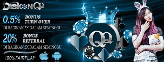 Website DominoQQ Online Terpercaya Anti Hacking : DiskonQQ.com