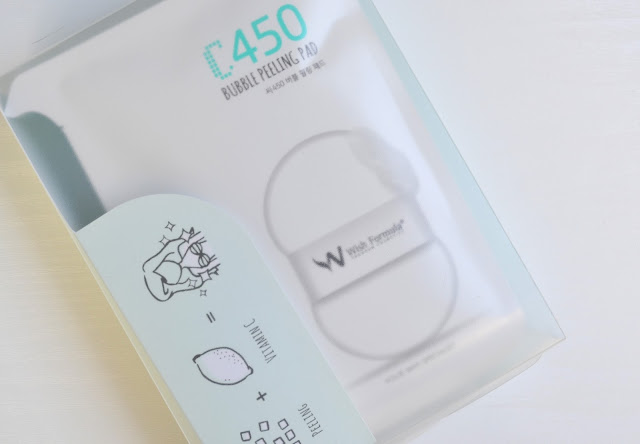 Wish Formula Bubble Peeling Pad Body Review