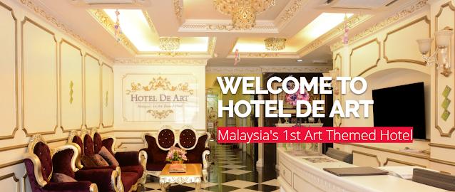 Percutian Pendek Keluarga di Hotel de Art USJ 21 Subang