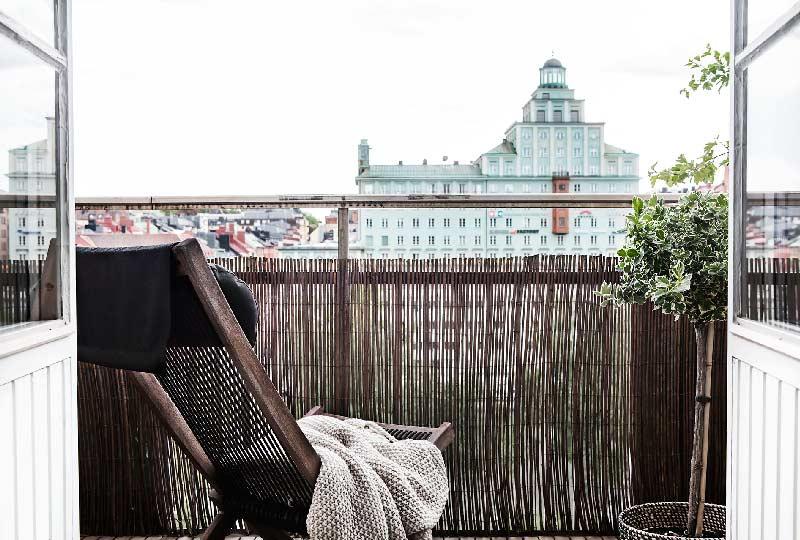 balcone d'inverno