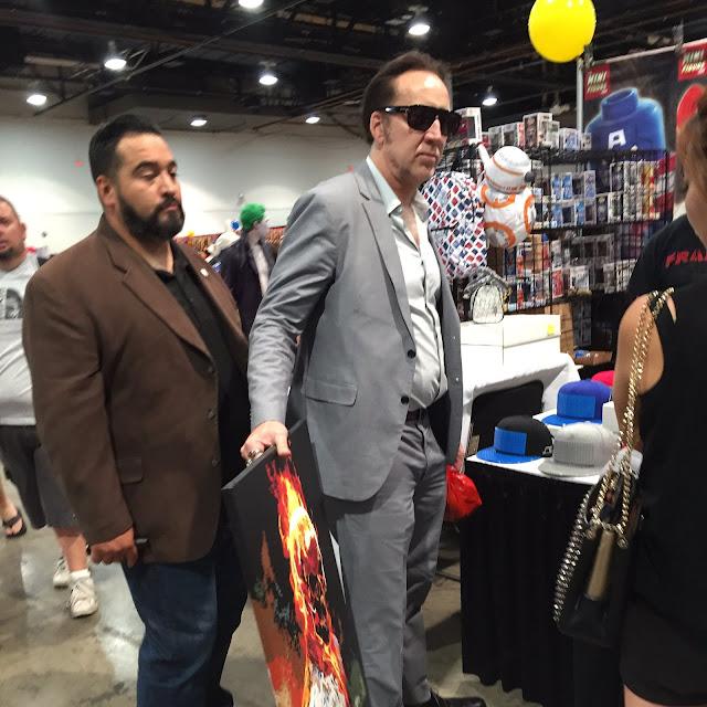 Nicolas Cage Las Vegas Comic Con Ghostrider
