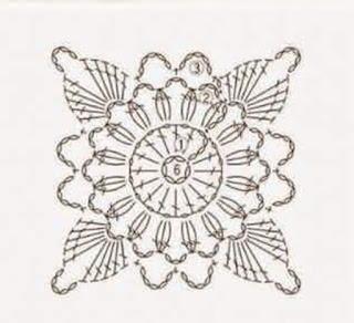 Majovel Crochet patrón cuadro cobijas crochet o ganchillo rosa y blanco muy fácil de hacer sencillo y rápido