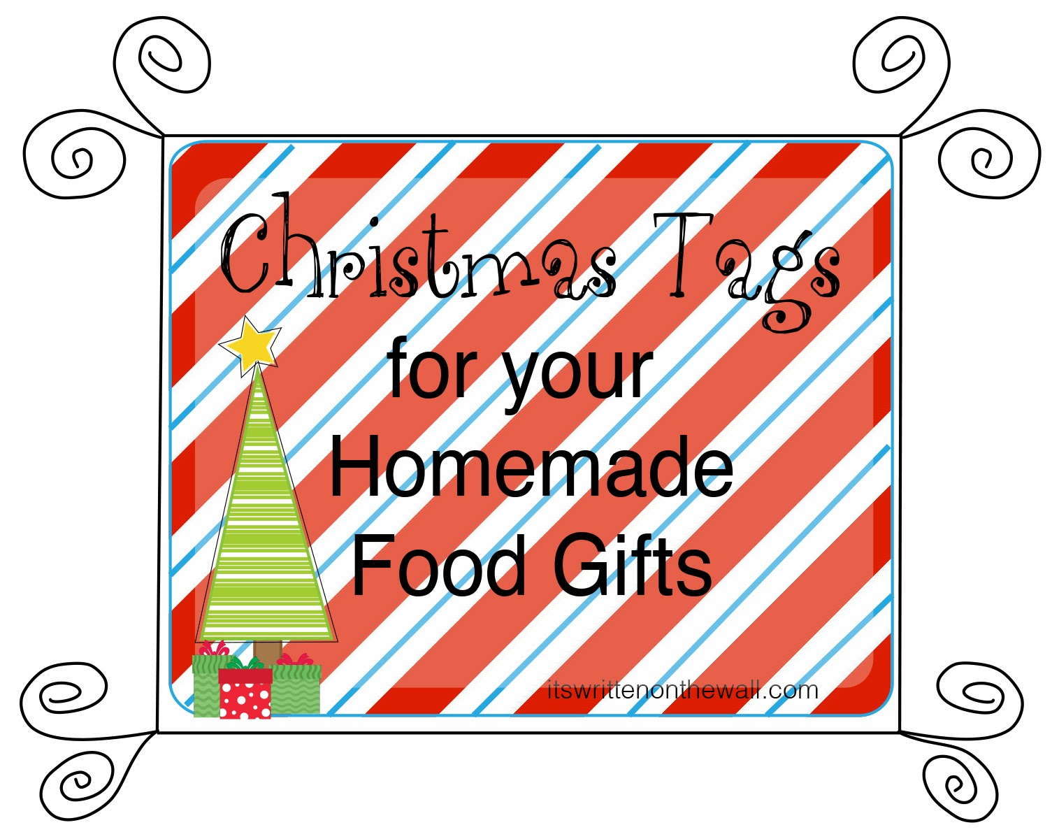 add a christmas tags to your homemade christmas food gifts made with love from our kitchen to yours ding dongs ho hos too