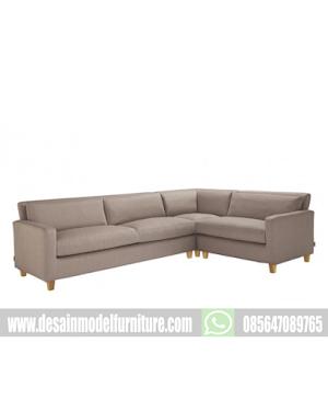 Kursi sofa minimalis leter L