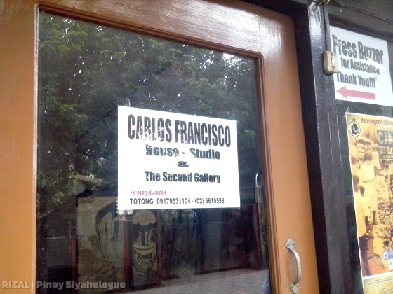 "The Second Gallery of Carlos ""Totong"" Francisco"