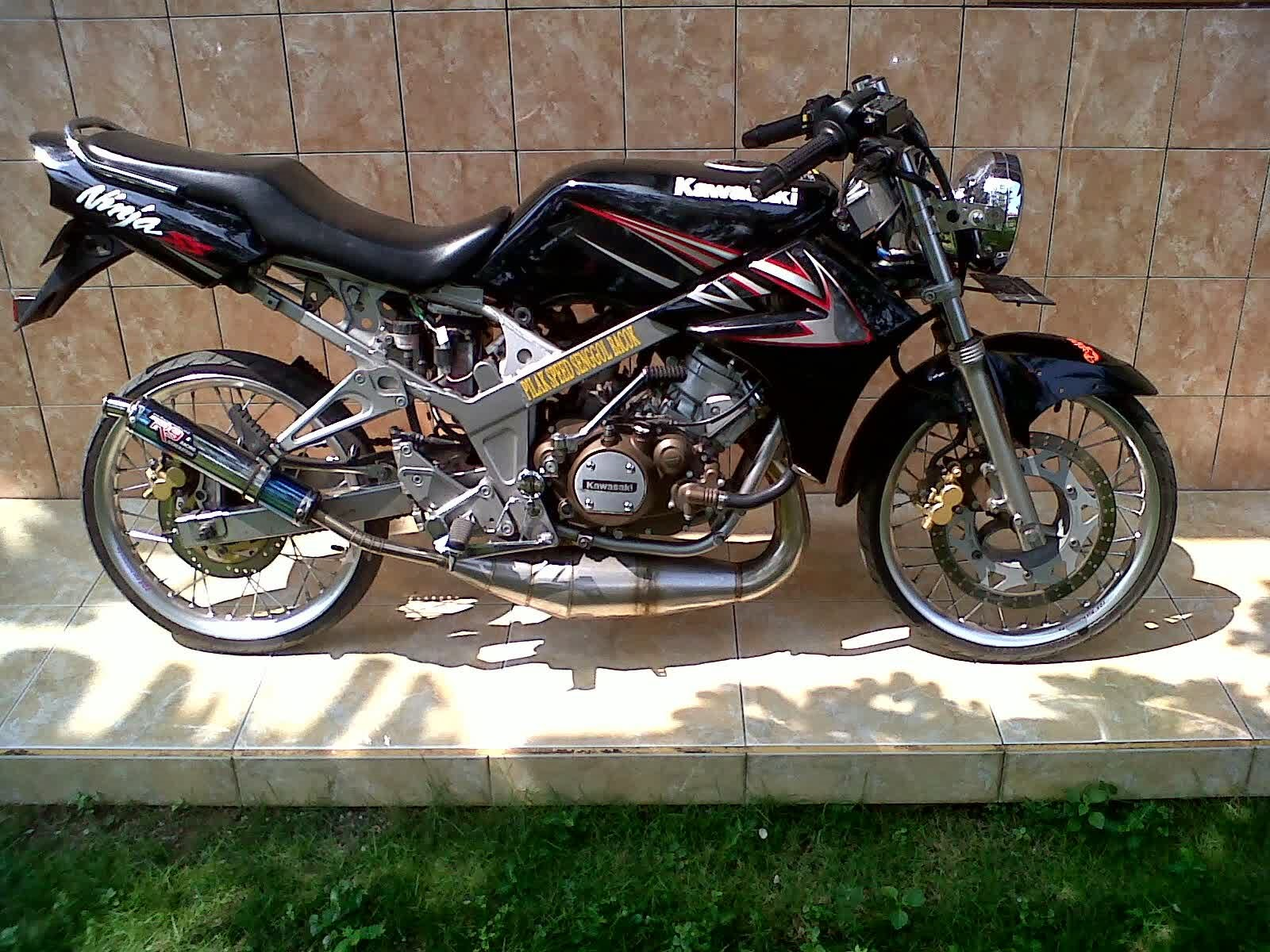 Koleksi Foto Modifikasi Motor Kawasaki Ninja 150 R Terlengkap