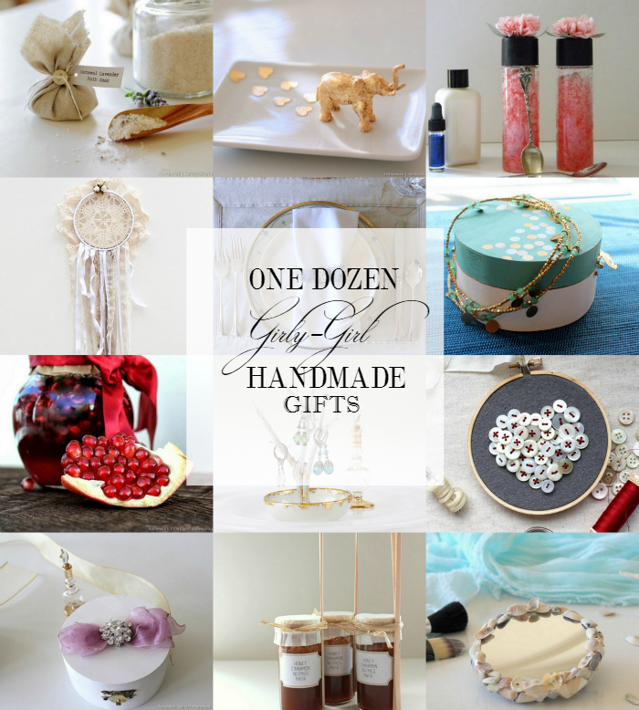 Girly Girl Handmade Gift Ideas