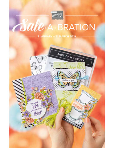 View the 2019 Stampin' Up!® Sale-A-Bration brochure online