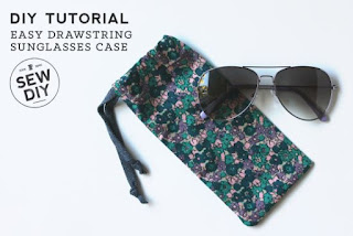 Easy DIY Sunglasses Case