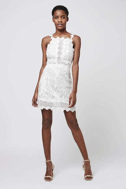 topshop white lace dress, white embroidered lace dress,