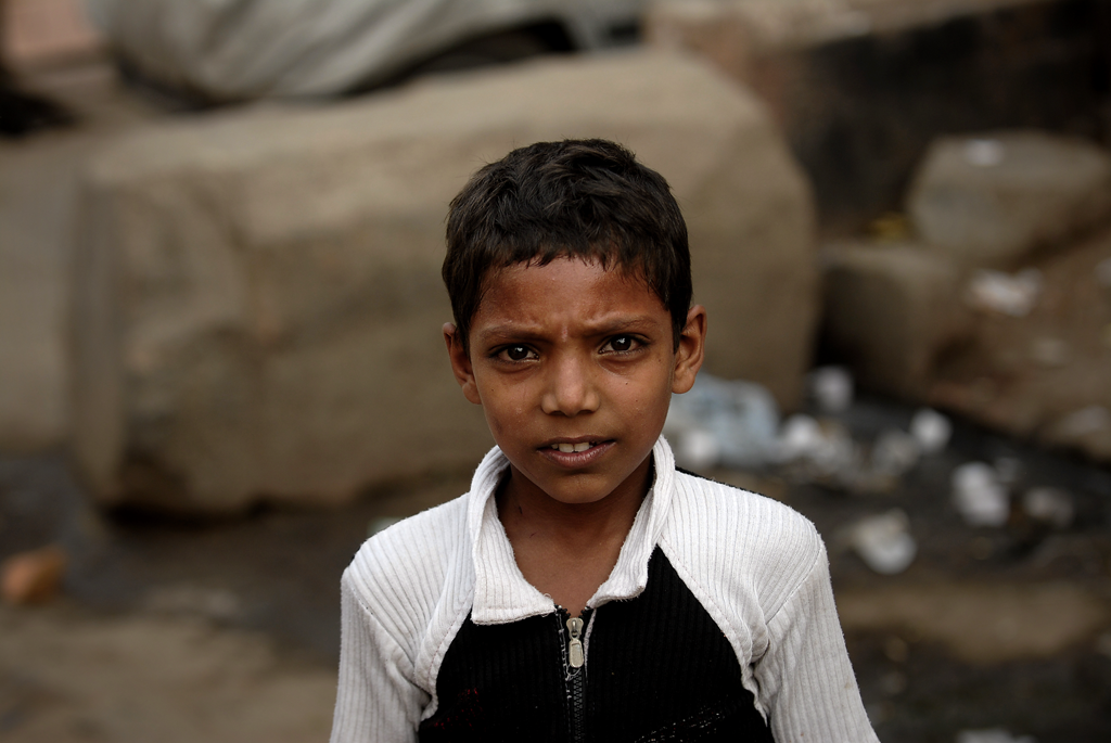 Photo of a boy in Delhi, India is among the many photos by the photographer on TotallyCoolPix.
