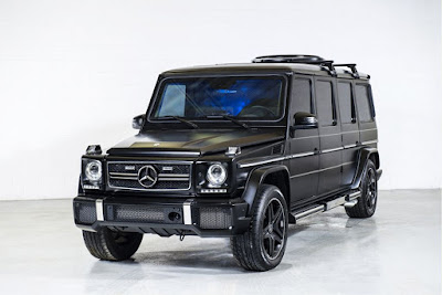Benz or Nothing: See Lovely Photos of N500 Million Mercedes Benz G63 AMG Limo