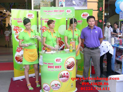 Quầy bán hàng thực phẩm Đức Việt