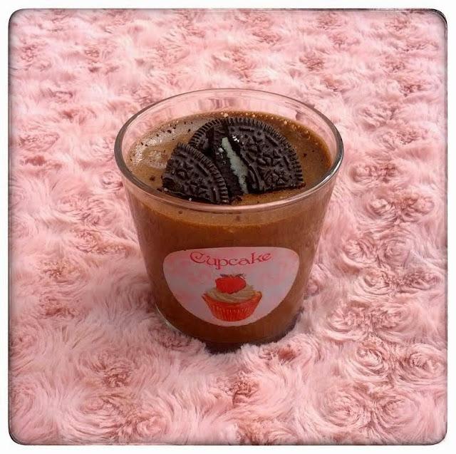 Mousse Express Chocolat Oreo