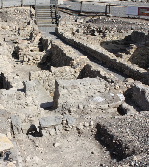 magdala excavated homes