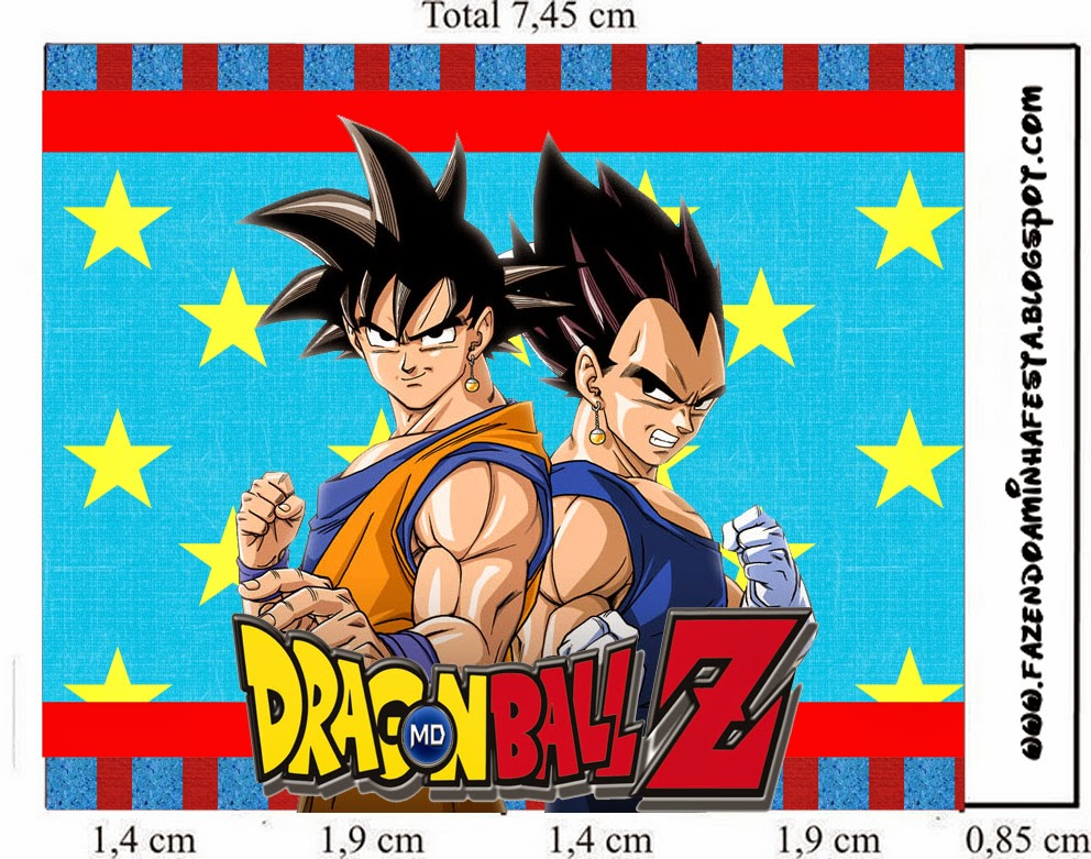 Dragon Ball Z Free Printable Candy Bar Labels Oh My Fiesta In