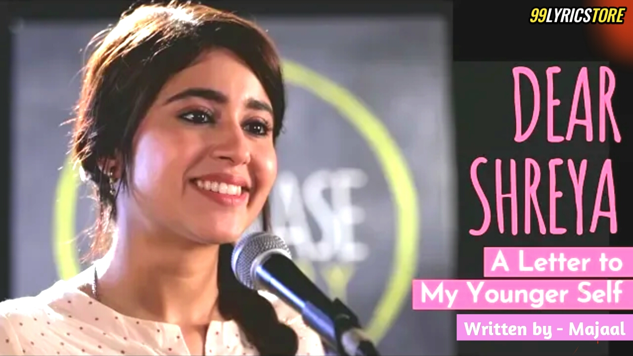 A Letter To My Younger Self Hindi Poem Vocals by Shweta Tripathi ft. Biswa and written by Majaal at UnErase Poetry