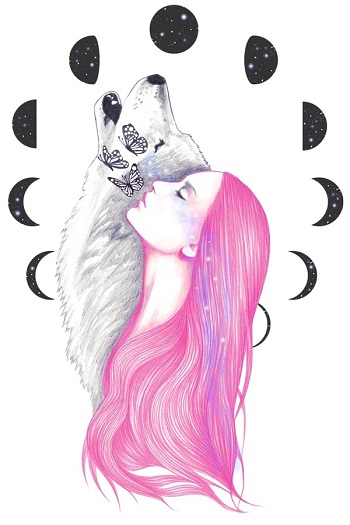 """Moon Daze"" by Andrea Hrnjak 