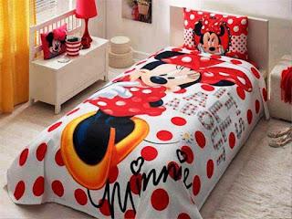 Model Kamar Anak Tema Mickey Mouse