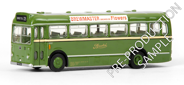 EFE PRE-PRO SAMPLE 16325 - Bristol LS Coach - Bristol Tramways Registration number .PHW 922, fleet number 2832. Works route 125 to Bristol.  Scheduled for a July Release. RRP £34.50