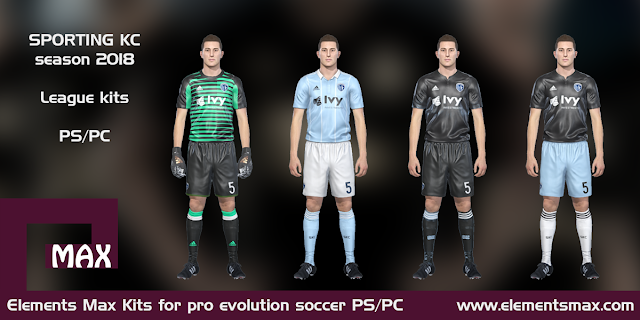 Sporting KC PES kits