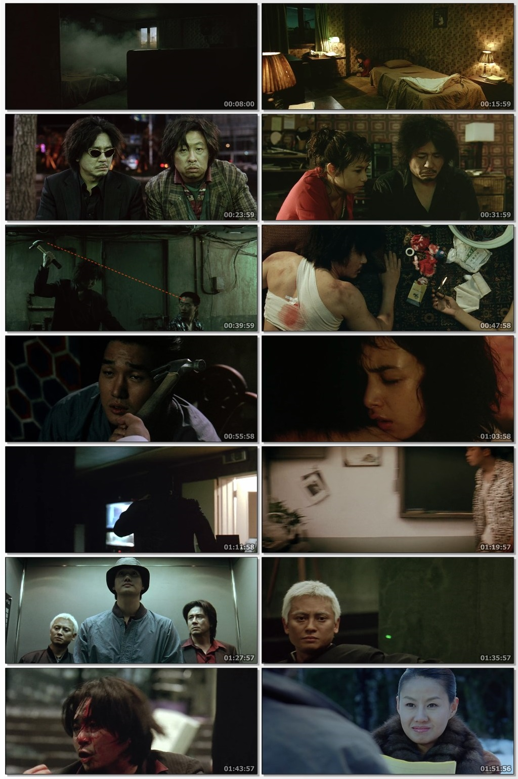 Oldboy (2003) Dual Audio Hindi 300MB BluRay 480p x264 ESubs