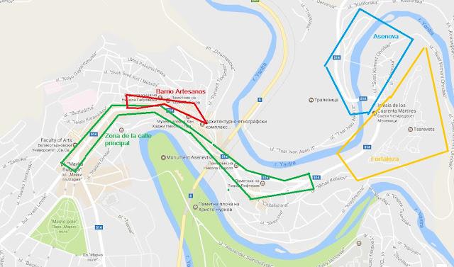 Visitas en Veliko Tarnovo