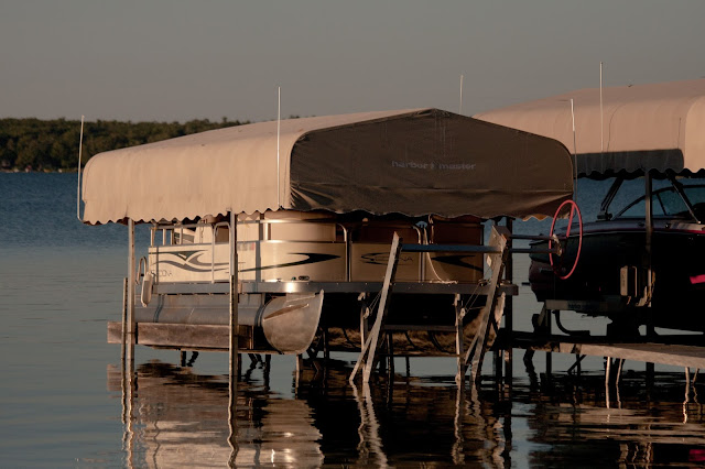 Boat Lift Canopy Seagull Wire Deterrent - Pontoon