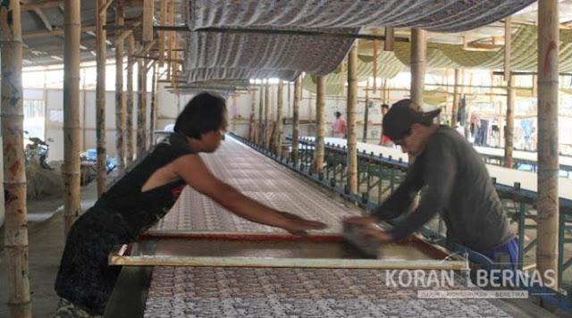 Industri Batik Kebumen Alami Pasang Surut