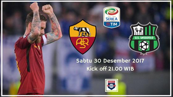 AS Roma vs Sassuolo