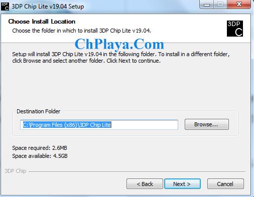 Download 3DP Chip - Tải, cập nhật, cài driver cho Máy tính, LapTop 5