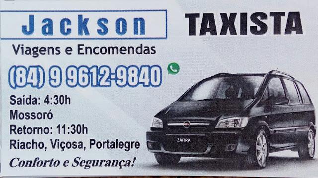 Jackson Taxista  [Viagens e encomendas]