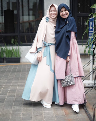 fashion baju couple shireen sungkar 2019