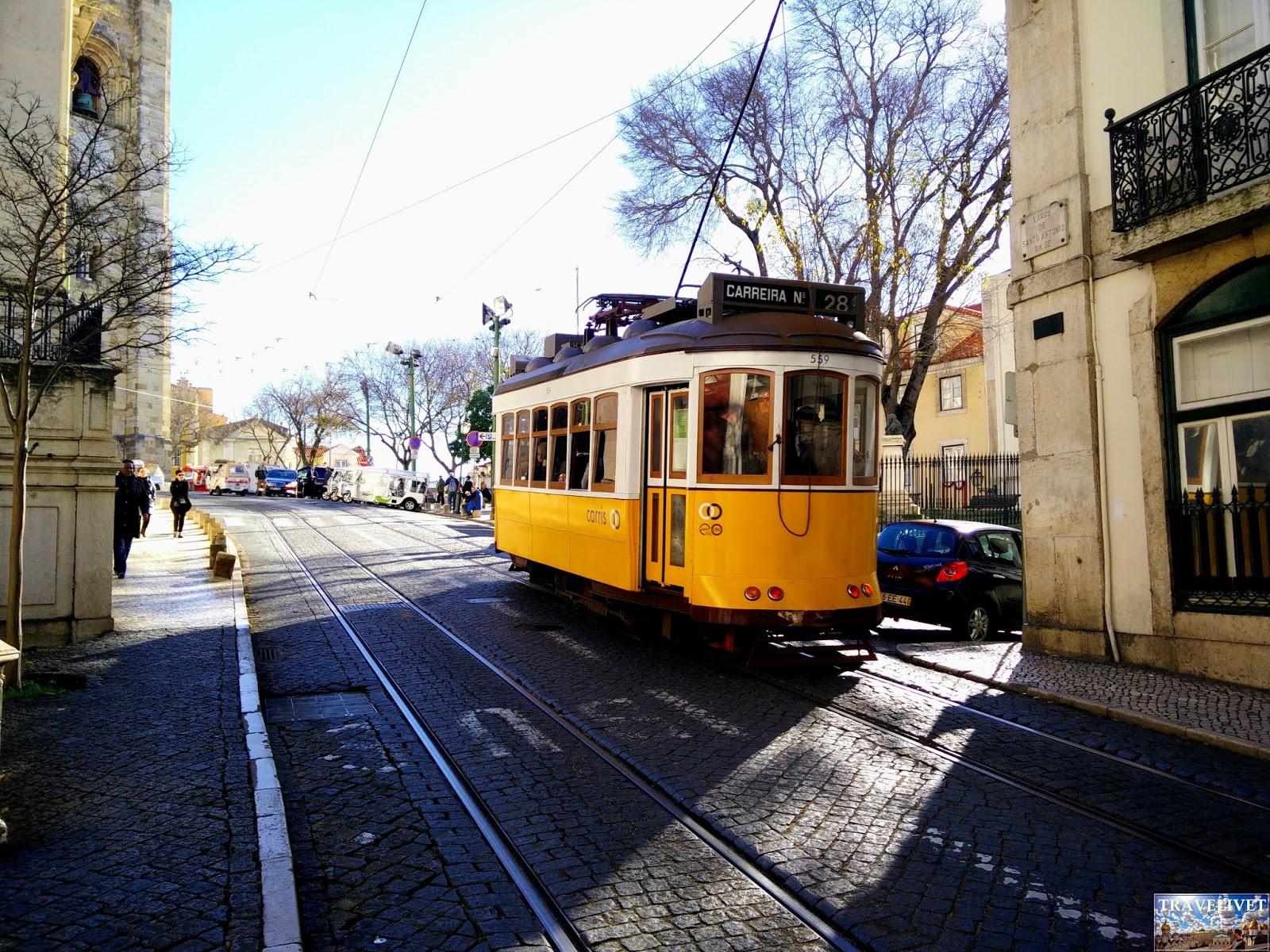 Portugal Lisbonne Lisboa tramway