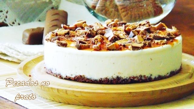 Cheesecake de chocolate Mars a receita perfeita