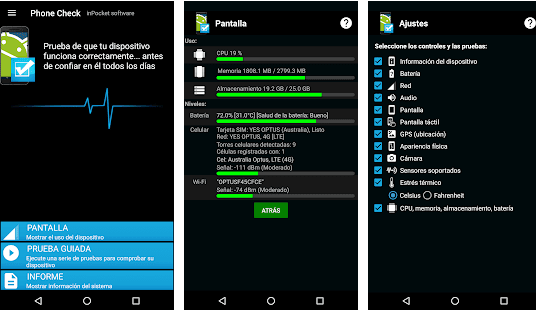 4 applications to see the health status of your Android phone 87