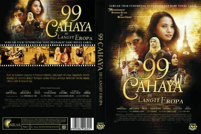 Ebook Novel 99 Cahaya Dilangit Eropa