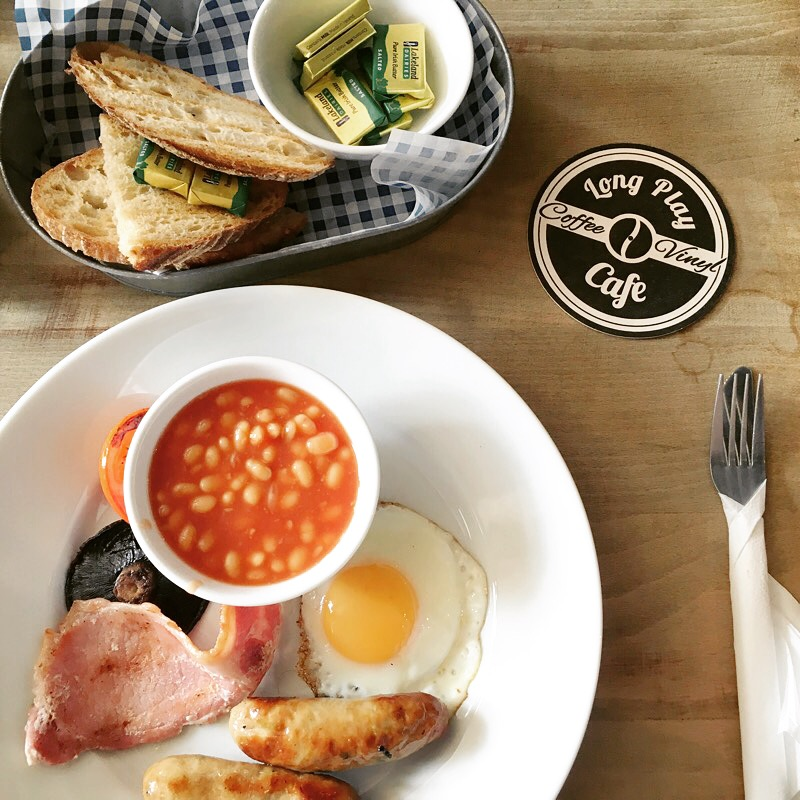 best breakfasts in Newcastle - Long Play Cafe - Newcastle Quayside