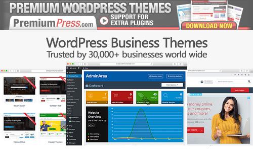 ShopperPress business WP theme