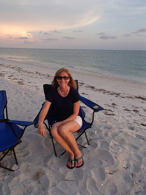 Susan at sunset