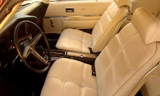 1972 Pontiac Grand Prix Model J Front Seat