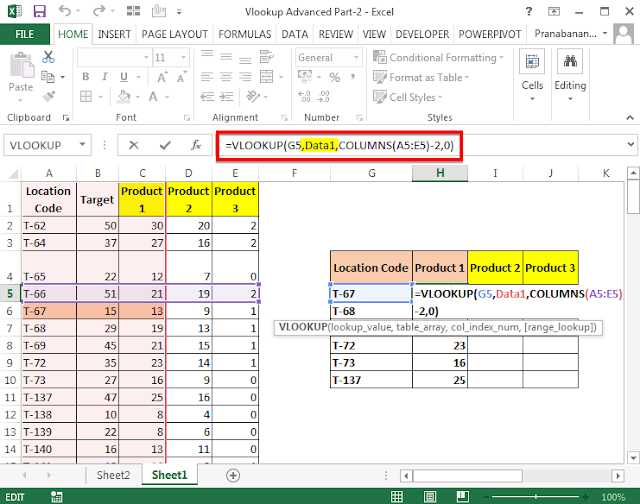 How to use the VLOOKUP Function - Advanced Part 3   Excel Solutions - Basic and Advanced