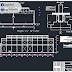 مشروع مبنى صناعي من الهياكل المعدنية اوتوكاد dwg