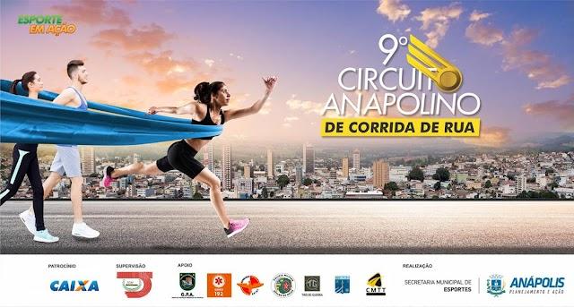 8ª etapa do Circuito Anapolino de Corrida de Rua