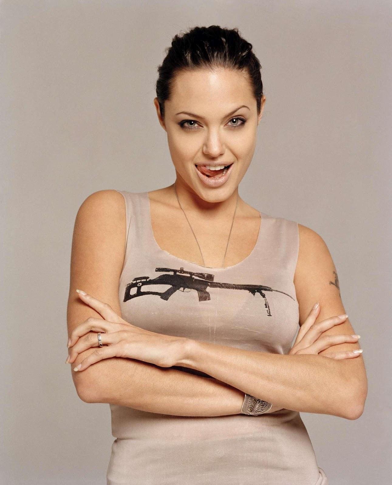 Angelina Jolie Naked Photoshoot