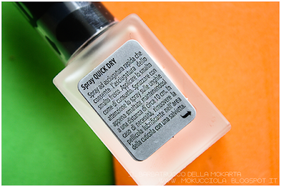 Review Polish P2 Cosmetics - quick dry spray