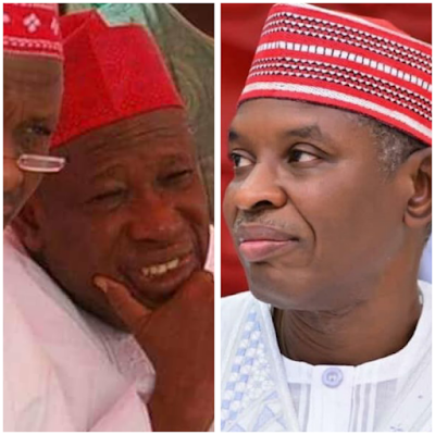 Abdullahi umara ganduje New governor of kano state, Abba gida gida ya fadi
