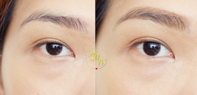 before and after photo of Benefit Ka-Brow!