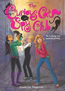 The Curious Cat Spy Club by Linda Joy Singleton