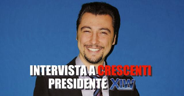 Marcello Crescenti, presidente della XIW
